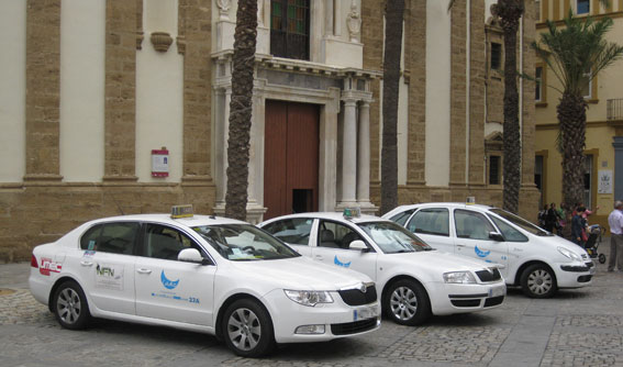 Cádiz quiere uniformar a sus taxistas