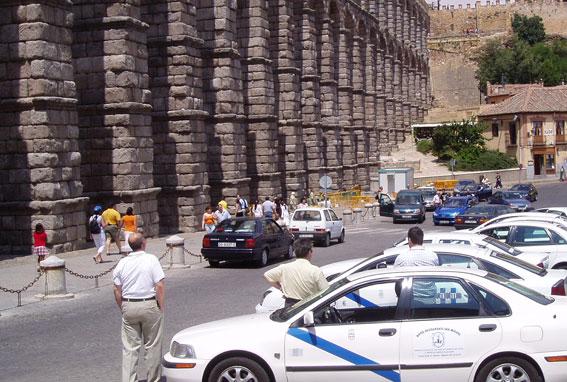 Los taxistas segovianos prescindirán del GPS, según el art.16