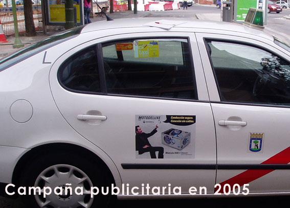 Los taxis de Madrid podrán llevar publicidad exterior en sus taxis