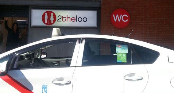 Los nuevos aseos de Atocha reciben el visto bueno del taxi