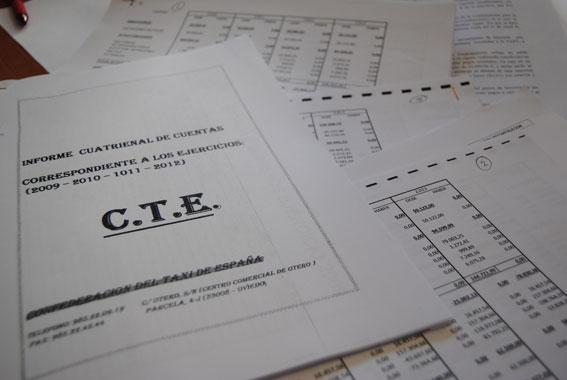 Cuatro contabilidades distintas para esconder el �saqueo� a la CTE