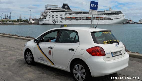 Restringido el horario en la parada del puerto de Las Palmas