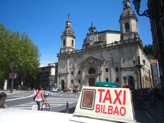 Bilbao realizará una campaña de vigilancia sobre taxis y VTC