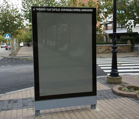 Mupis informativos para el sector valenciano