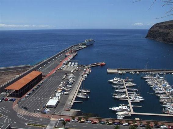 El puerto de La Gomera, nueva área sensible