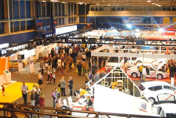 Concluye con éxito la IV edición de la Feria del Taxi