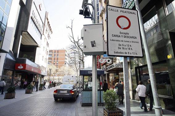Taxistas de la provincia tendrán acceso a zona peatonal de Ciudad Real