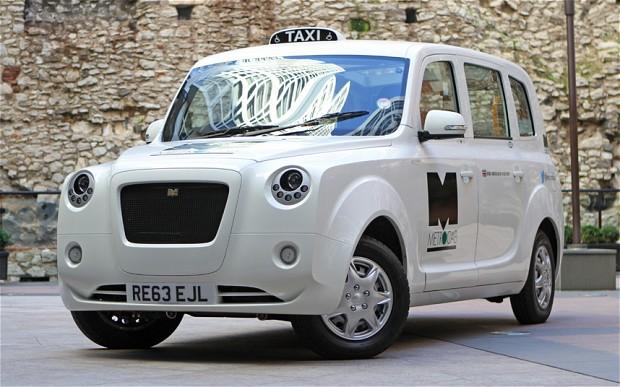 El mítico taxi londinense se convierte en eléctrico