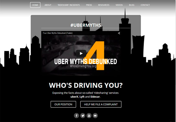 Guerra mediática contra Uber