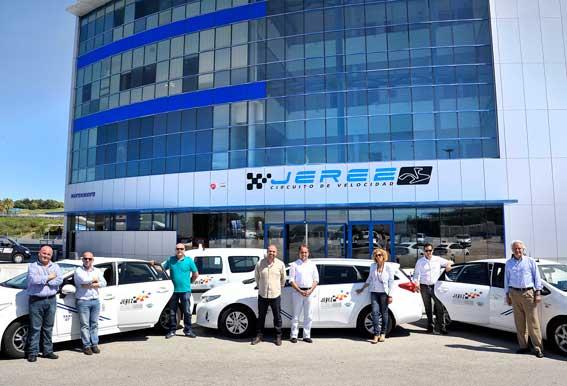 El taxi de Jerez, promotor del motociclismo