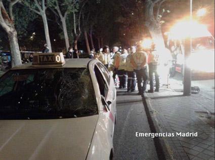 Fallece un joven tras ser atropellado por un taxi