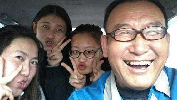 Un taxista aficionado a los 'selfies' consigue un récord