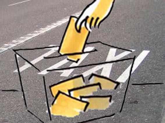 El taxi entra en las papeletas de campaña