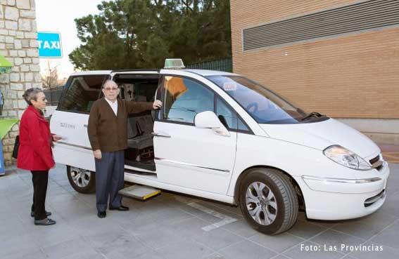 Taxi gratuito para ir al hospital