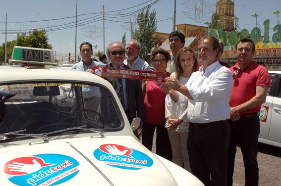 El taxi cordobés, comprometido con la donación de órganos