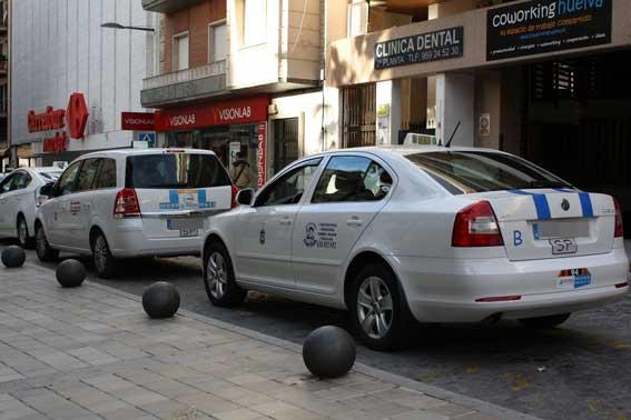El taxi de Huelva se manifestará el lunes