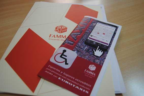 Premiada la app Accessibility Plus Eurotaxi de FAMMA
