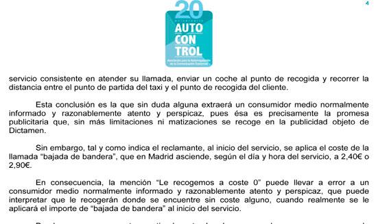 """Autocontrol califica de """"engañosa"""" la campaña recogida 0 de Gremial"""