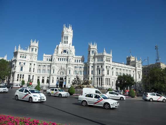 El taxi madrileño reclama más apoyo del Ayuntamiento