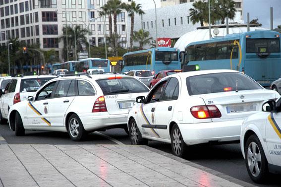 Oleada de robos sobre taxis en Palma