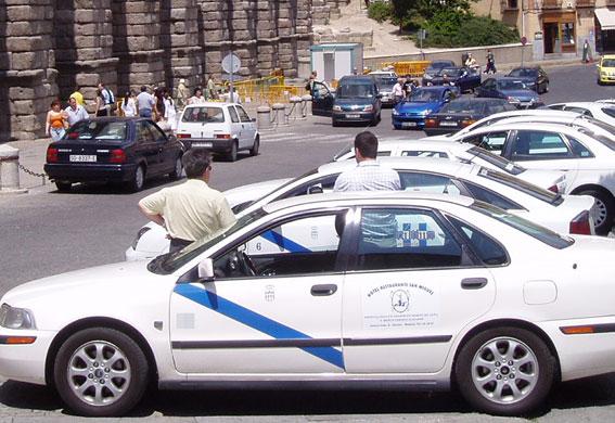 Consenso en la modificación del reglamento del taxi de Segovia