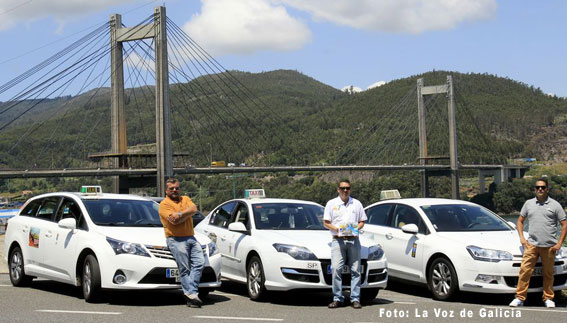 Taxis turísticos amplían rutas en Vigo