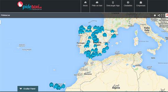 Pidetaxi continúa su expansión y llega a Aragón