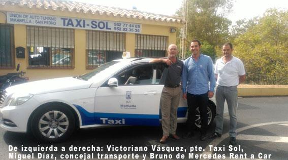 Marbella ya cuenta con su primer taxi de sustitución