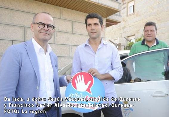 Teletaxi Ourense presenta nueva gestión de flotas y app