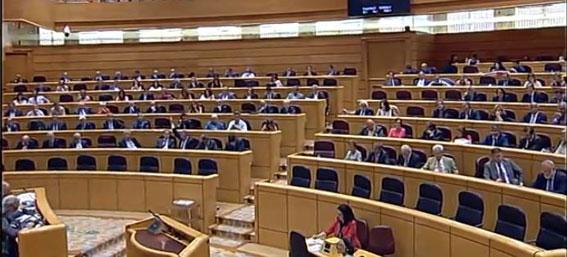 Los senadores gastaron 284.000 euros en taxis en 2015