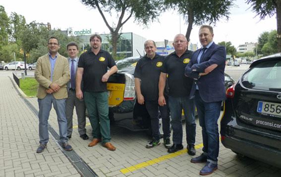 Taxistas crean una app para compartir taxi