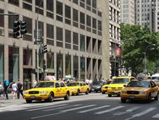 El taxi, más rápido que Uber en Nueva York