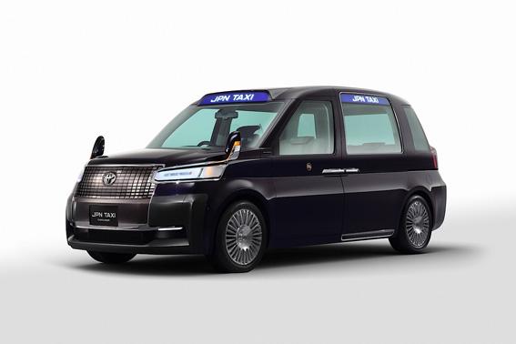 Toyota presentará su nuevo taxi en Tokio