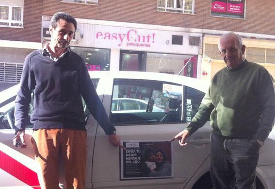ONG busca taxistas solidarios por Navidad