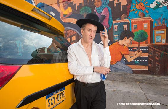 """Con este calendario los taxistas son noticia por algo positivo"""