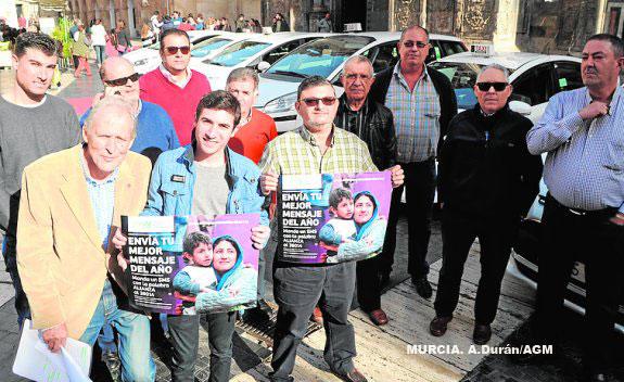 Taxistas solidarios con las refugiadas sirias