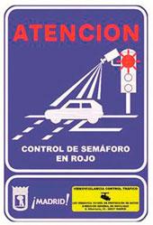 Más sistemas de control de semáforo en rojo en Madrid