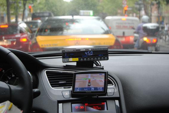 Un taxista agrede a otro en Castellón
