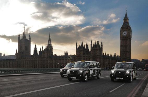 El taxi de Londres pide ser de los primeros en recibir la vacuna