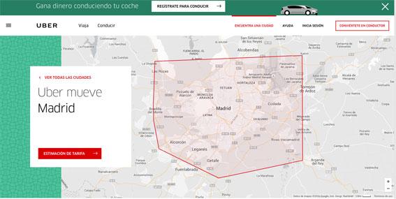 La nueva estrategia de Uber en España, las VTCs