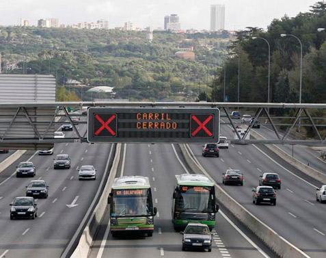 Los taxis libres podrán circular por el Bus-VAO de la A6