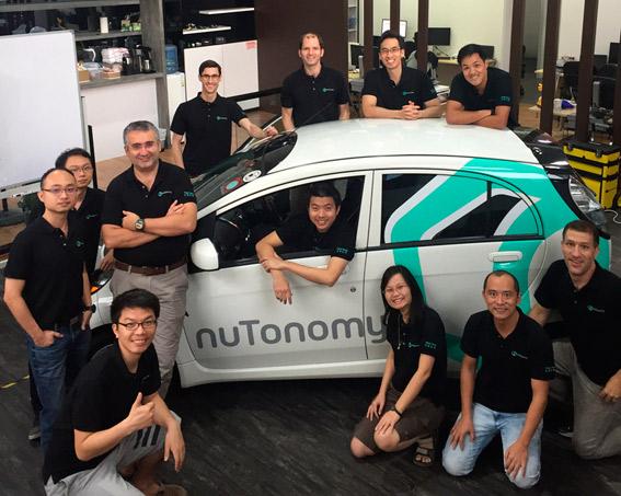 """El taxi sin conductor """"nuTonomy"""" circula ya por Singapur"""