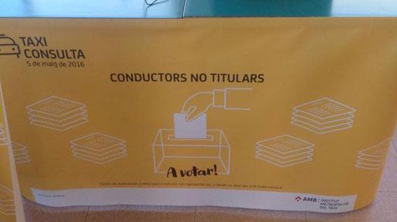 Los taxistas de Barcelona renuevan hoy la Taula Técnica del Taxi
