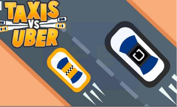 Crean un videojuego fruto del conflicto entre el taxi y Uber
