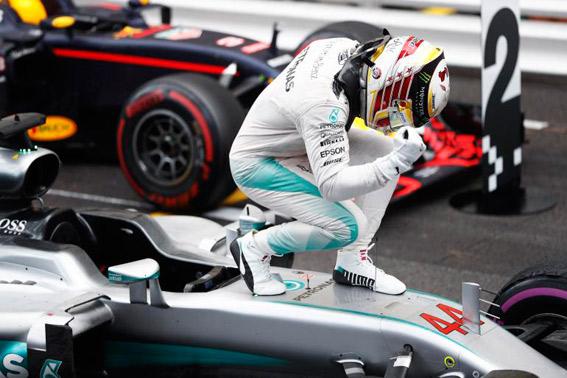 Hamilton se reencuentra consigo mismo en Montecarlo