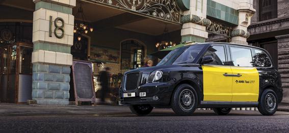 LTC TX5: el taxi londinense, ahora 100% el�ctrico, se presenta en Barcelona