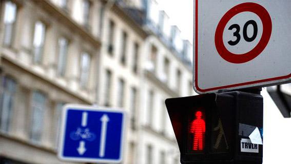 Madrid rebajar� la velocidad m�xima a 30 km/h en Chamber�