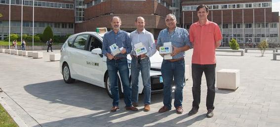 Taxistas colaboran para mejorar la calidad del aire en Pamplona