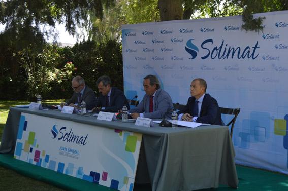 Ejercicio positivo en 2015 para Solimat