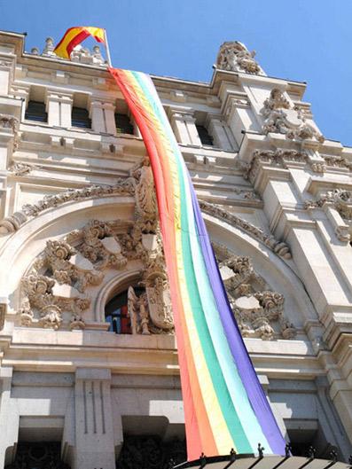 Paradas provisionales de taxi con motivo del Orgullo LGBT 2016